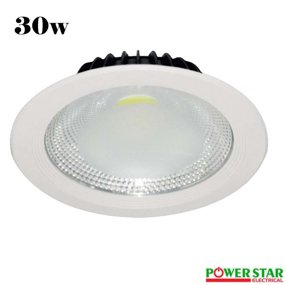 Led cob ceiling light recessed downlight mozeypictures Gallery